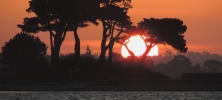 coucher de soleil roscoff