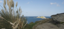 paysage roscoff mer